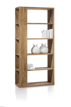 Piura, Room-divider 5-niches (knock-down)