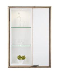 Verano, Hang-bergkast Smal 1-deur + 3-niches (+ 1 Led)