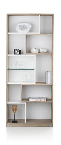 Verano, Boekenkast 11-niches - 80 Cm