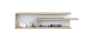 Verano, Wandplank 2-niches - 125 Cm