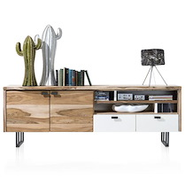 Vista, Dressoir 2-deuren + 2-laden + 4-niches - 225 Cm