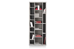 Montero, Boekenkast 17-niches - 190 Cm