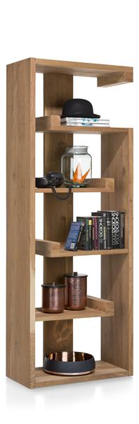 Garda, Boekenkast 5-niches - 70 Cm