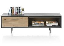 Cenon, Tv-dressoir 1-klep + 1-niche - 150 Cm (+ Led)