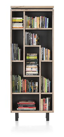 Myland, Boekenkast 9-niches  - 75 Cm