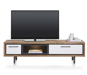 Otta, Tv-dressoir 1-lade + 1-klep + 1-niche - 170 Cm (+ Led)