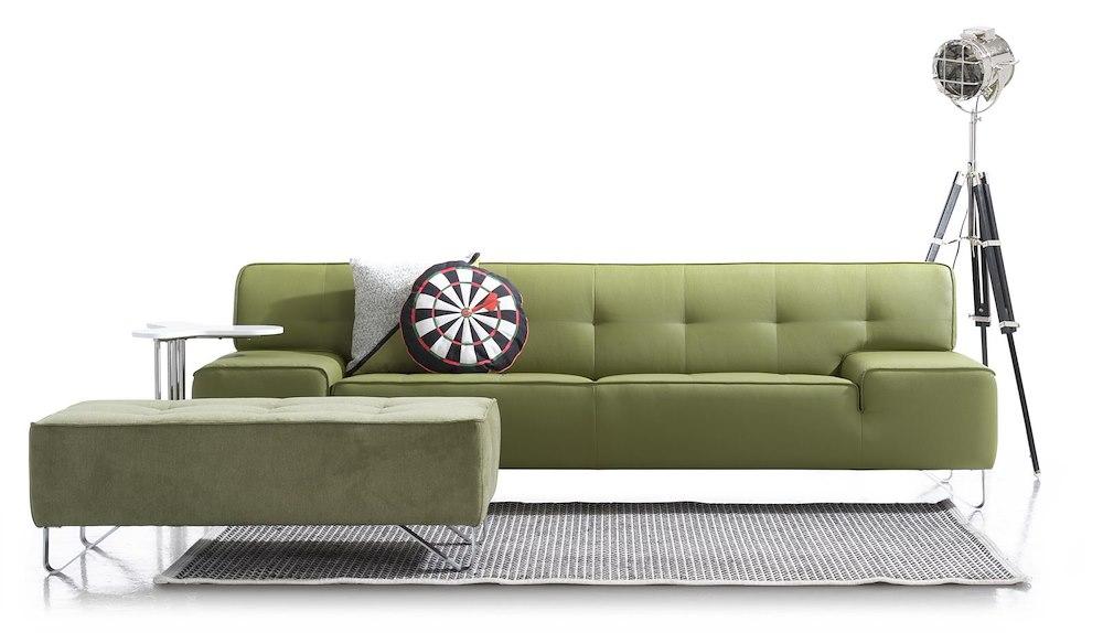 m ridienne gauche deux places et demie oslo. Black Bedroom Furniture Sets. Home Design Ideas