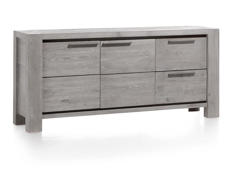 buffet bas 2 portes 2 tiroirs largeur 180 cm montero xooon. Black Bedroom Furniture Sets. Home Design Ideas