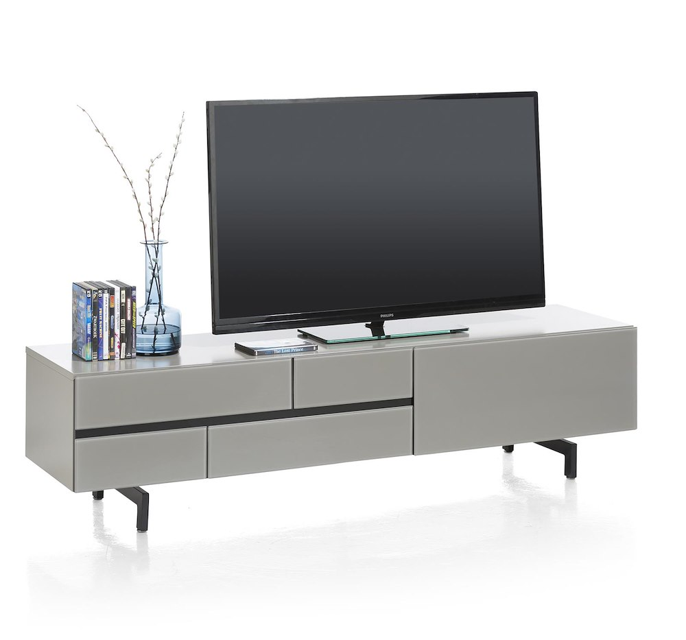 lurano meuble tv 1 tiroir 1 porte rabattante 170 cm. Black Bedroom Furniture Sets. Home Design Ideas