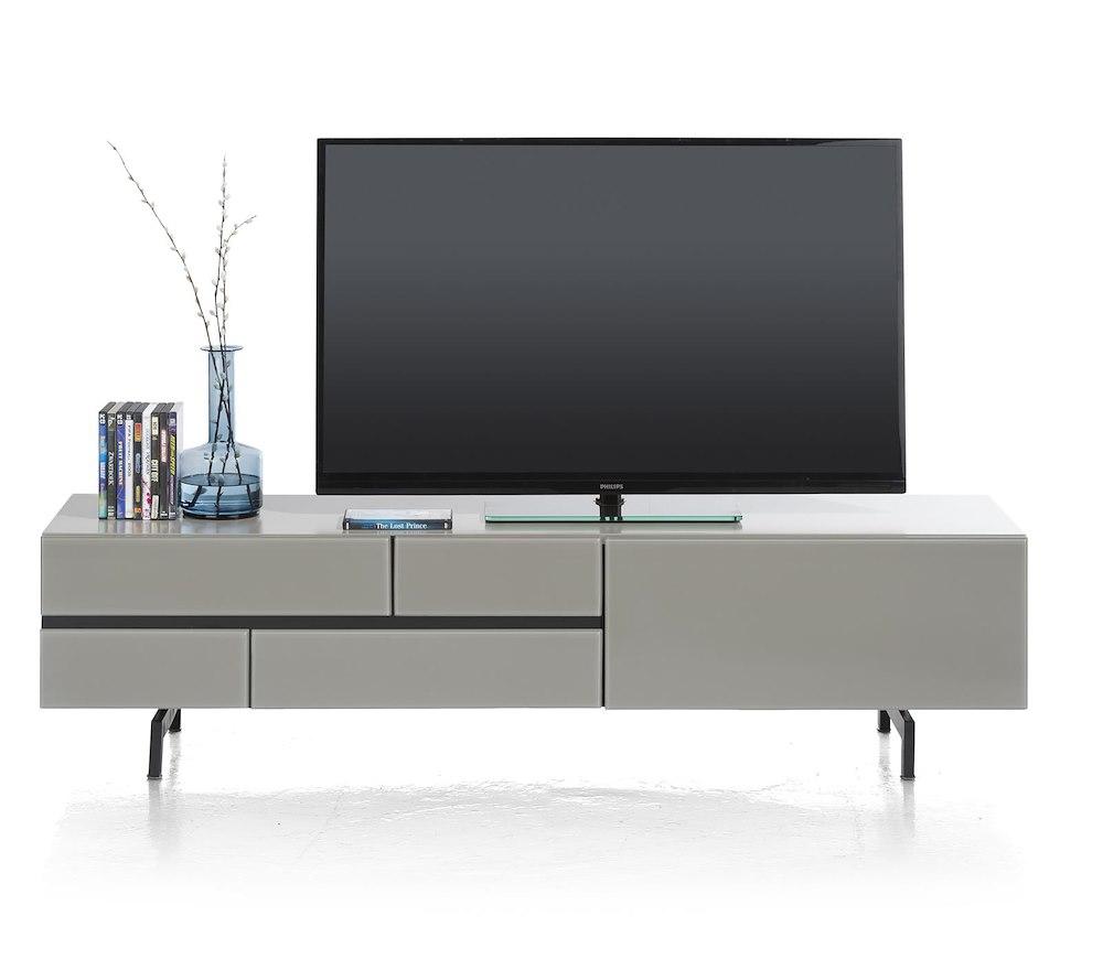 Lurano meuble tv 1 tiroir 1 porte rabattante 170 cm for Meuble xooon