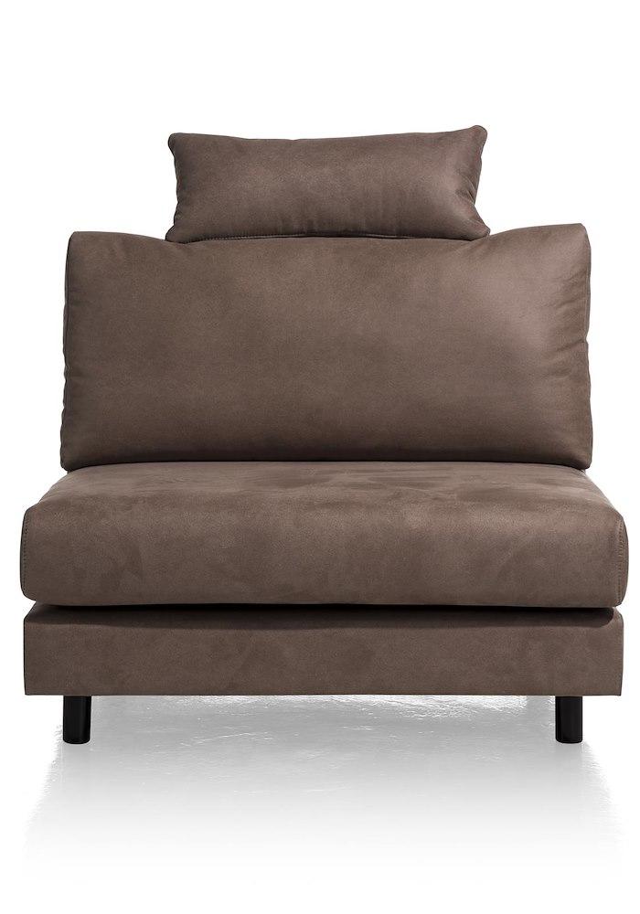 canap fauteuil sans accoudoirs avec appui t te segmento. Black Bedroom Furniture Sets. Home Design Ideas