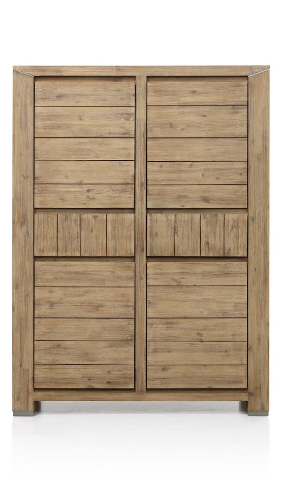 Caracas armoire 4 portes 2 tiroirs 120 cm for Meuble xooon