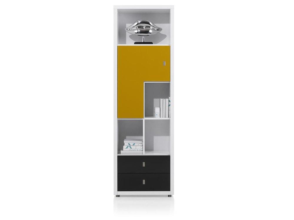 Fortaleza block tiroirs brillant for Meuble xooon