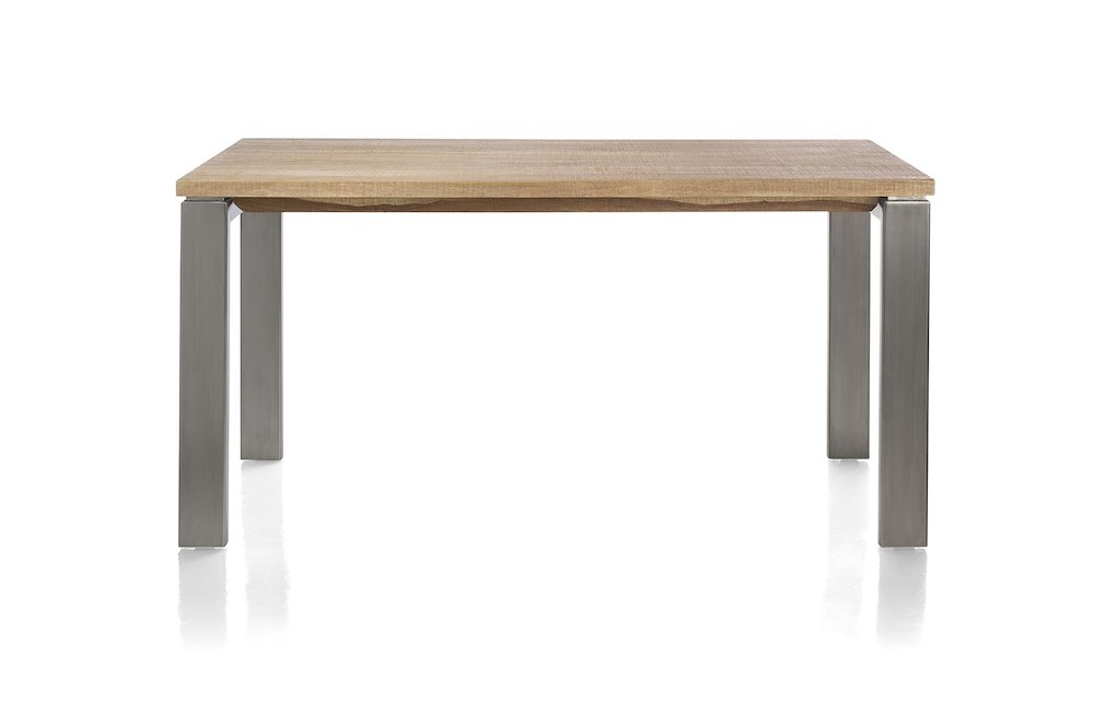 Piura table 160 x 90 cm pieds metal for Pieds de table 90 cm