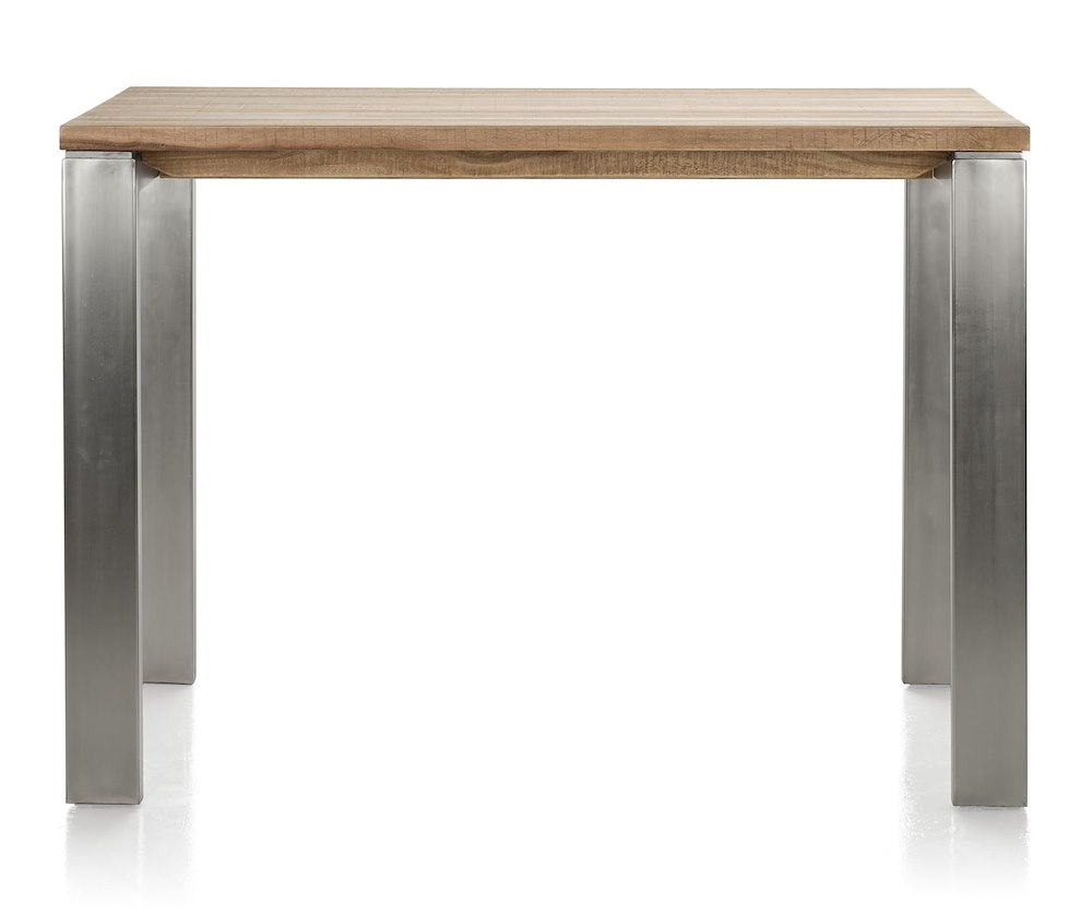 Piura table de bar 130 x 90 cm pieds metal - Pieds de table 90 cm ...