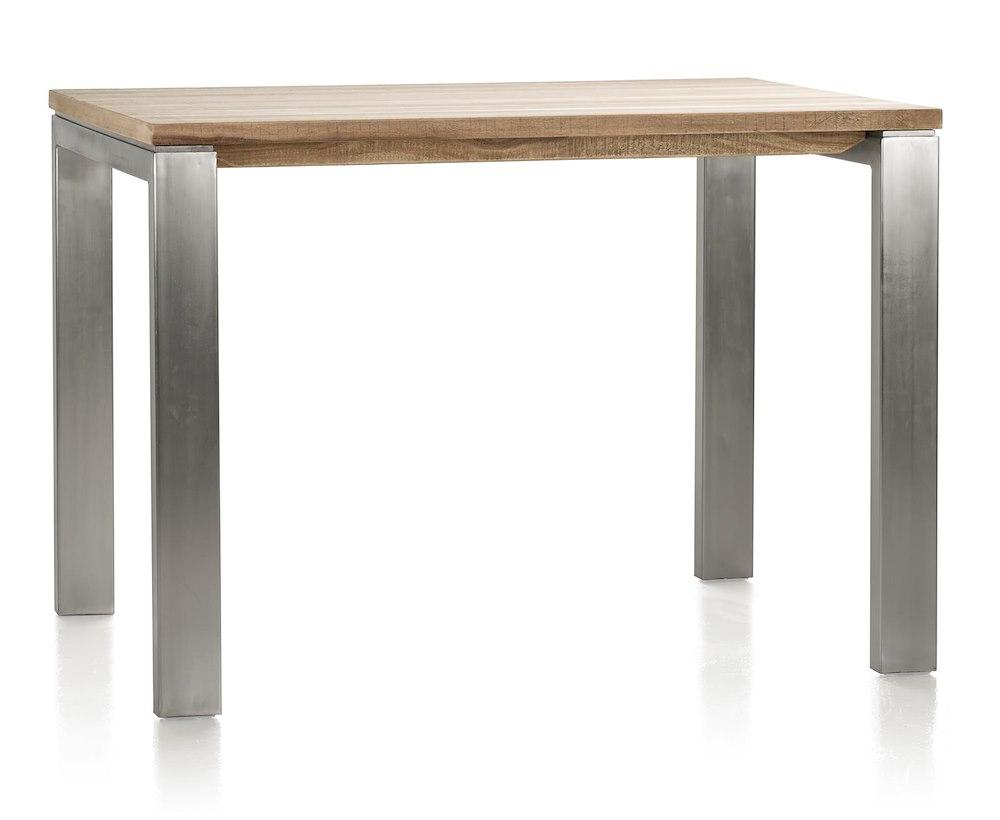 piura table de bar 130 x 90 cm pieds metal. Black Bedroom Furniture Sets. Home Design Ideas