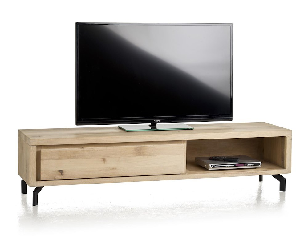 Durango meuble tv 1 tiroir 1 niche 170 cm for Meuble xooon
