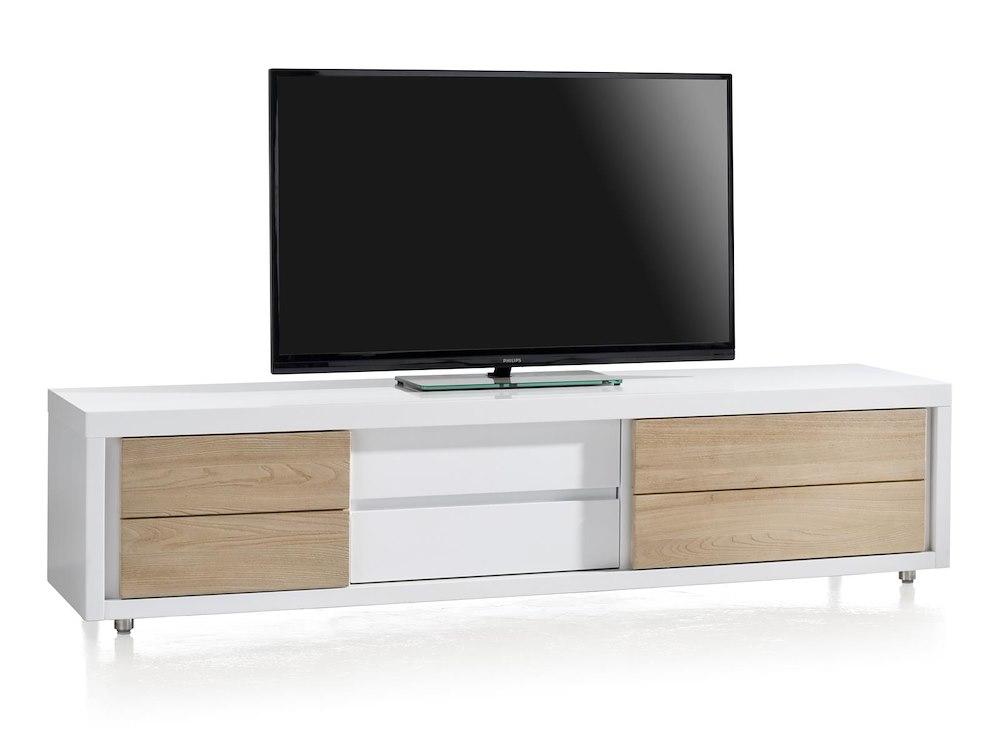 Les Meubles TV Xooon - Meuble tv porte coulissante