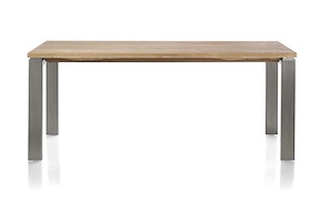 Piura, Table - 190 X 90 Cm + Pieds Metal