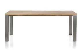 Piura, Table - 220 X 100 Cm + Pieds Metal