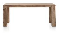 Piura, Table A Rallonge - 160 (+ 50) X 90 Cm + Butterfly + Pieds En Bois
