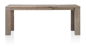 Masters, Table A Rallonge 140 (+60) X 90 Cm - Bois 12x12/10x14
