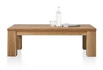 Masters, Table Basse 120 X 70 Cm - Bois 12x12/10x14
