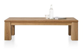 Masters, Table Basse 140 X 70 Cm - Bois 12x12/10x14
