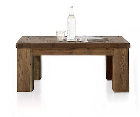 Masters, Table Basse 90 X 90 Cm - Bois 12x12/10x14