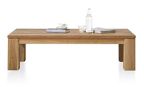 Masters, Table Basse 140 X 90 Cm - Bois 12x12/10x14