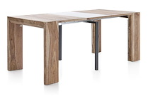 Pia, Table A Rallonge 90 X 40 (+ 4x50) Cm