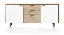 Verano, Buffet 2-portes + 3-tiroirs - 180 Cm