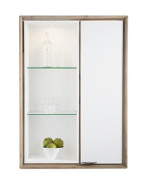 Verano, Armoire 1-porte + 3-niches (+ 1 Led)