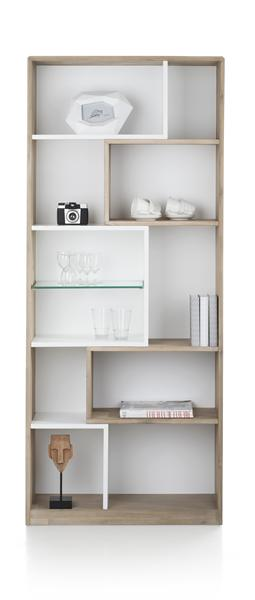 Verano, Bibliotheque 11-niches - 80 Cm