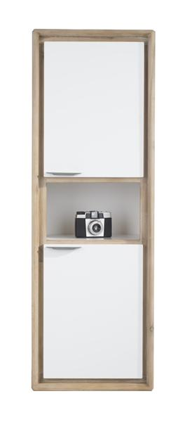 Verano, Armoire Murale 2-portes + 1-niche - 41 Cm