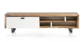 Vista, Meuble Tv 1-porte Rabatt. + 4-niches - 170 Cm