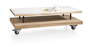 Vista, Table Basse 120 X 60 Cm + 1-niche
