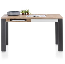 Vista, Table / Bureau 140 X 80 Cm + 1-tiroir + 1-niche