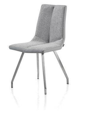 Artella, Chair 4 Legs Stainless Steel + Combi Moreno/forli