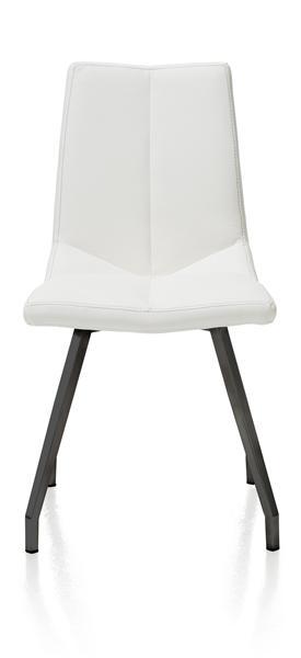 Arto, Chaise Noir 4 Pieds