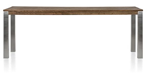 Masters, Table De Bar 260 X 100 Cm - Inox 9x9