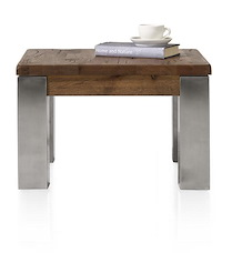 Masters, Table De Basse 60 X 60 Cm - Inox 9x9