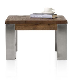 Masters, Table Basse 60 X 60 Cm - Inox 9x9
