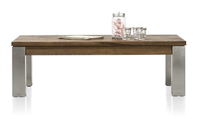 Masters, Table Basse 120 X 70 Cm - Inox 9x9