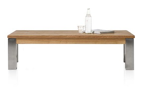 Masters, Table Basse 140 X 70 Cm - Inox 9x9