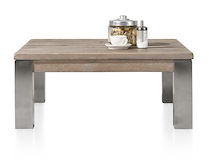 Masters, Table De Basse 90 X 90 Cm - Inox 9x9