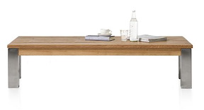 Masters, Table Basse 160 X 90 Cm - Inox 9x9