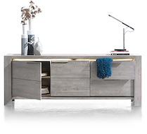 Montero, Buffet 2-portes + 2-tiroirs - 220 Cm