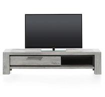 Montero, Meuble Tv 1-porte Rabattante + 1-niche - 175 Cm