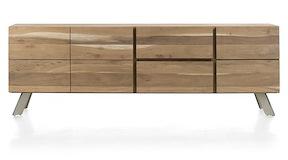 Garda, Buffet 3-portes + 2-tiroirs - 220 Cm